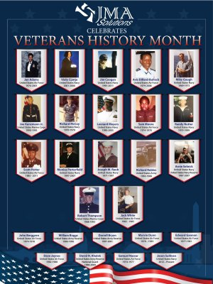 JMA Vets Month 2019 Poster