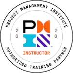 PMI authorized training partner instructor badge
